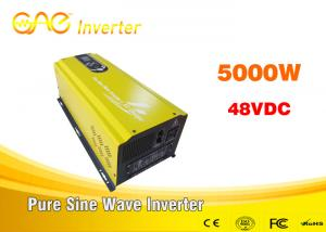 China Low frequency pure sine wave off grid solar inverter solar power 48 volt dc to 220 volt 50hz ac inverter 5000w on sale