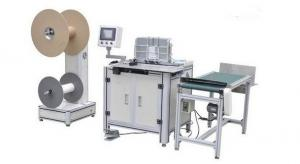 China PLC Notebooks Double Wire Binding Machine / Bookbinding Equipment on sale