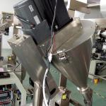 Flavour Condiment Packet Machine , Plastic Auto Sugar Sachet Packing Machine