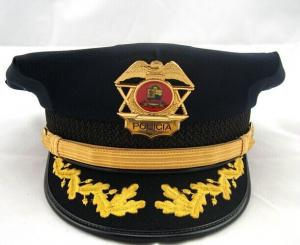 3572fa87e92 ... Quality Army Gold Embroidered Military Hats And Caps For Captain Man