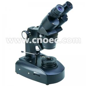 China Black Inclined Binocular Jewelry Microscope 20X - 40X A24.1201 on sale