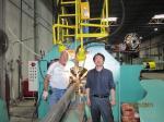 Grandes máquina da Fechar-Soldadura de pólo claro/linha de produção pólo claro com aprovação do ISO