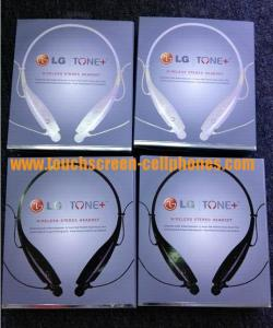 China LG HV-900 HBS-900 Tone + Sport Neckband Headphone / Bluetooth Stereo Earphones on sale