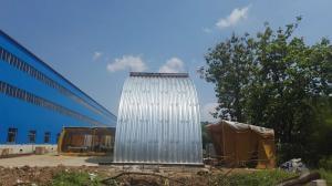 China Railway Steel Roll Forming Machine , Heavy Large Corrugated Plate Roll Forming Machine on sale