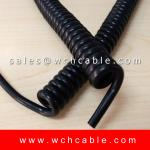 UL Approval Tinsel Conductor Spring Cable