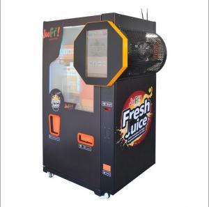 China Auto Fresh Orange Juice Vending Machine , Fruit Vending Machine With Nfc on sale