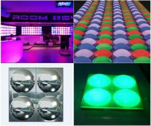 China RGB dimmer DMX single control LED disco bubble panel on sale