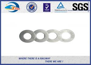 China Zinc Plated Flat Spring Locking Washer for Railway Fastenings on sale