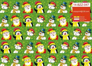 China Christmas Gift Wrapping Paper Rolls For Decorative Packing Customized Printing on sale