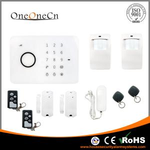 China APP RFID Touch Keypad smart gsm Wireless Security Alarm System with alarm control keypad on sale