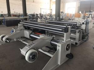 China 15kw Paper Slitter Rewinder Machine Automatic Magnetic Powder Brake 1600D on sale