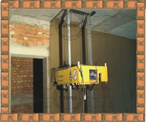 China Auto Concrete Plastering Machine For Cement Wall 800mm * 1350mm * 500mm on sale