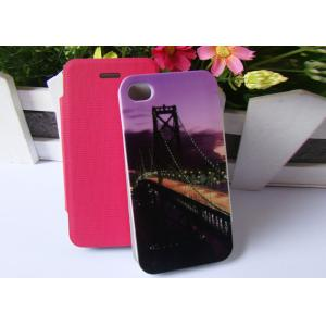 China Custom Apple iPhone4 Protective Case Dust Proof Phone Flip Cover on sale