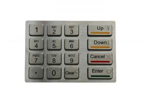 China 24 Bit Encryption And Decryption Security Keypad With 16 FDK Keys on sale