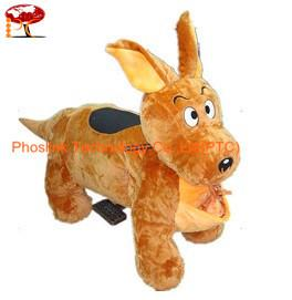 China Coin Operated Rabbit Walking Animal rides for Kids in Garden and Outside PTC-WK02 on sale