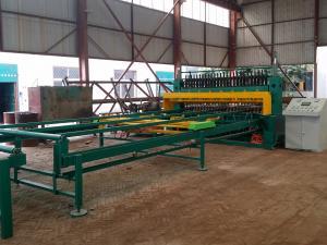China Deformed Steel Wire Mesh Machine , Concrete Rebar Mesh Welding Machine on sale