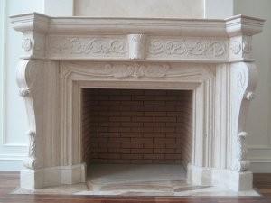 China White Decoration Wood Stove Insert, Marble Fireplace on sale