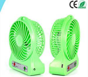 China Blowing Quickly USB Mini Desktop Fan Table Green Cooling Desk Fan on sale