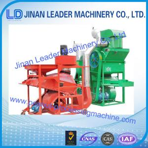 China high capacity 2000/3000/4000KG/H peanut shelling production line be stoner destoner, wind on sale