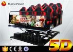 Hydraulic 5d Cinema With Motion Platform 4d Motion Seat 5d Cinema System Movie Equipment