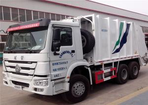 China SINOTRUK HOWO 6X4 Garbage Compactor Truck 16 cbm 10 Wheels For Waste Collect on sale