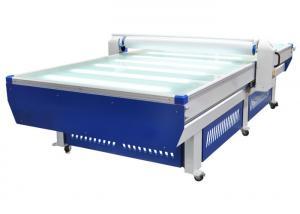 China Rigid Board Automatic Lamination Machine Flatbed Laminator 0.8Kw - 1.0Kw / H on sale