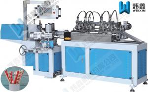 China Blue Paper Tube Making Machine Automatic Paper Drinking Straw Packing And Paper Straw Printing on sale