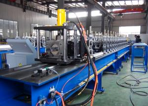 China Non - Stop Cutting Pallet Rack Roll Forming Machine 1.5 - 2.5mm Thickness Material Usage on sale