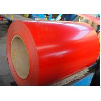 CQ Prepainted Galvalume Steel Coil 0.13mm - 1.2mm Ral3001 Red Ral9002 White