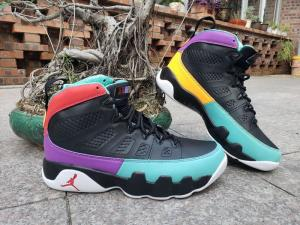 China Men Air Jordan 9 Retro black dark concord canyon gold university red discount Jordan shoes on sales www.apollo-mall.com on sale