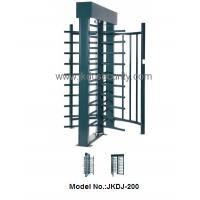 Semi-automatic pedestrain gate/boom barrier full height turnstile price