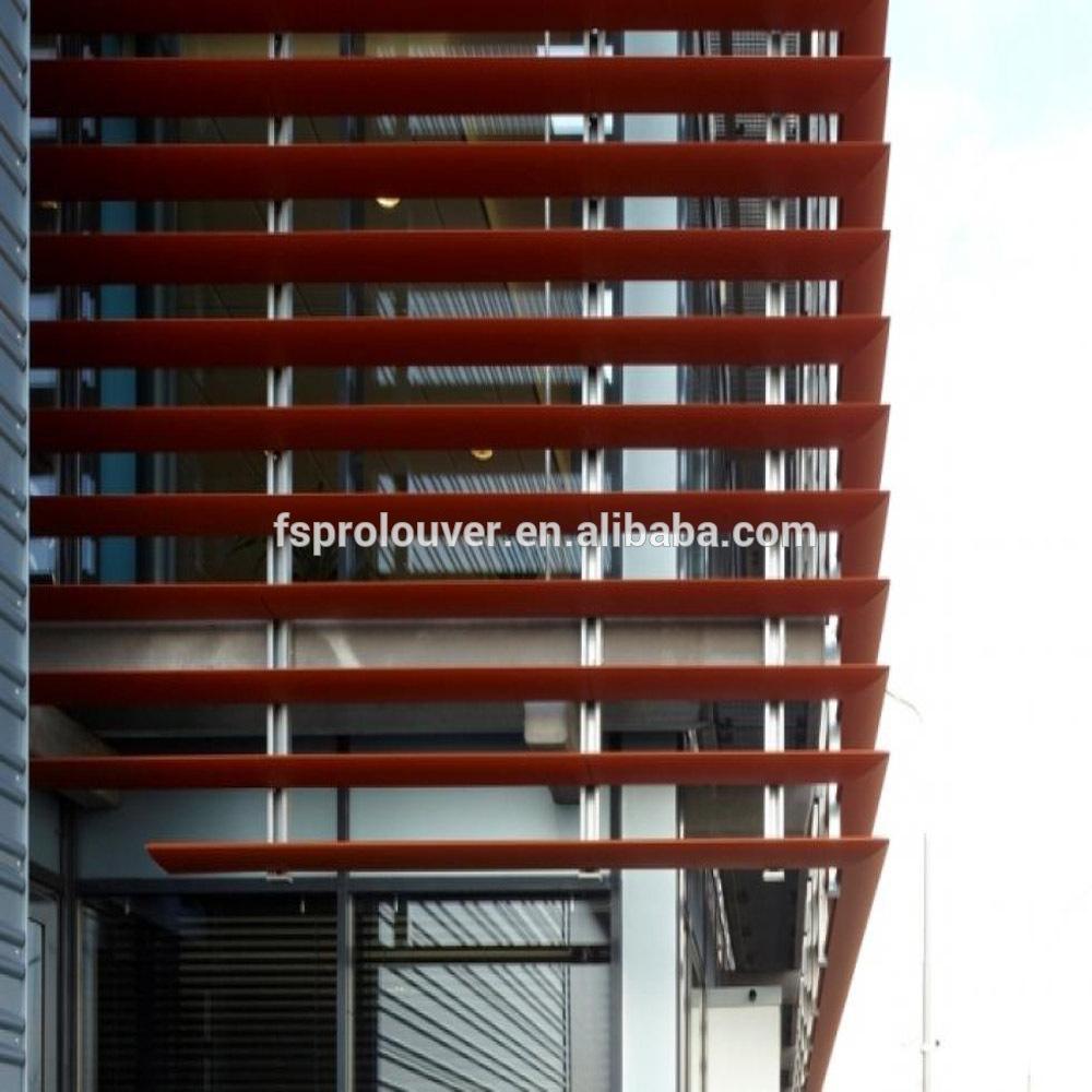 Factory Price Aerobrise Sun Louvers For Building Facade Exterior Window Davidprolouver