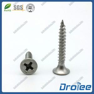 China 304 Stainless Steel Philips Bugle Head Drywall Screw Fine Thread on sale