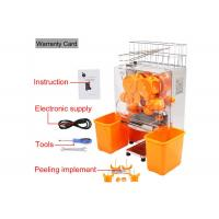 Desk Top Fresh Orange Juice Squeezer With Stainless Steel Touch pad