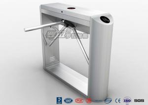 China Barcode Reader Tripod Turnstile Security Gates With Gym Entrance Control on sale