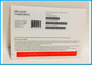 China MS Multi Language Genuine Microsoft Windows Softwares Pro OEM Sticker 100% Activation Online on sale