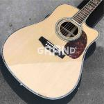 Factory customization Solid Spruce Top Martins D45c Cutaway Electric Acoustic Guitar