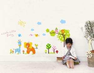 China Cute PVC Removable Wall Stickers Waterproof For Kindergarten on sale