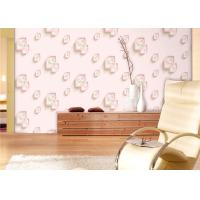 China Eco-Friendly Low Flammability Living Room Wallpaper , Interior Decorating Wallpaper on sale