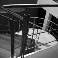 China Cheap Price Indoor Removable pvc Stairs Top Handrail Stainless Steel Rod Railing on sale
