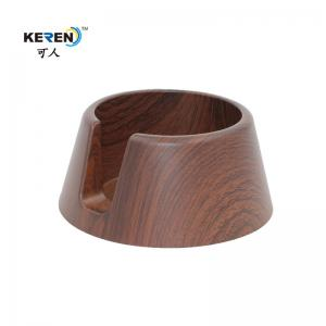 China Modern Recessed Cup Holder , Anti Spill Drink Recessed Drink Holder Wood Grain on sale