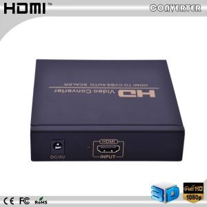 China HD Video converter hdmi to av +audio converter auto scaler full hd on sale