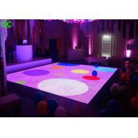 China P4.81 waterproof interactive Dance floor led display , led dance floor rental on sale
