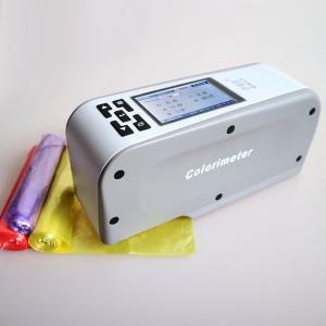 China Precise Digital Color Reader , Textile / Clothing Color Testing Equipment on sale