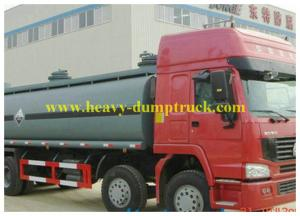 China Fuel Tanker Truck Sinotruk howo Chemical Liquid 26500L for Congo on sale