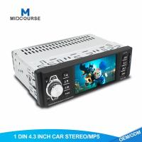 China 4.1 Inch 1 Din Car Stereo TFT LCD Car MP5 Player With Bluetooth OEM  Service on sale
