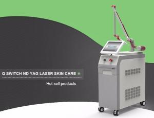 China Vertical 1064 nm / 532nm pigments removal q-switch nd yag laser tattoo removal on sale