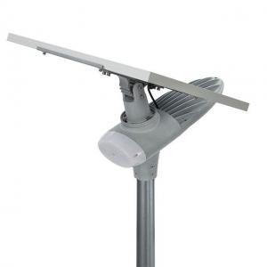 China Auto Intensity Control Solar Powered LED Street Lights IP67 Waterproof Wide Lighting Angle on sale