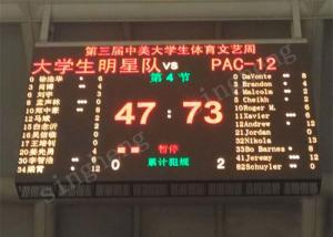 China High Definition P5 LED Scoreboard Display Point By Point Correction Technology on sale