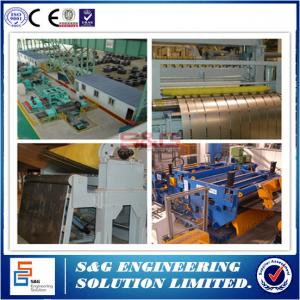 China High Speed Steel Coil Slitting Machine 0 - 400m / Min Working Efficiency on sale